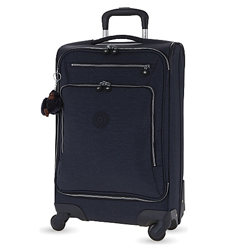 KIPLING Youri four-wheel spinner suitcase 55cm (Alaskan+blue