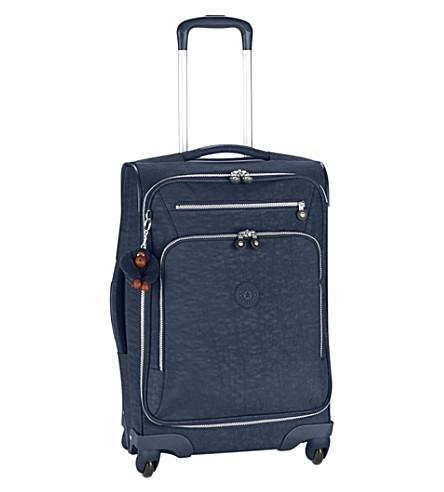 KIPLING Youri spinner suitcase 55cm (True+blue
