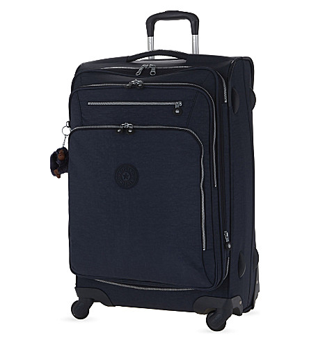 KIPLING Youri four-wheel spinner suitcase 68cm (Alaskan+blue