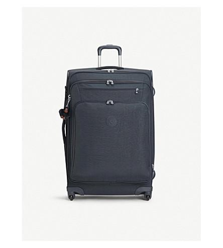 KIPLING Youri large expandable four-wheel suitcase 78cm (True+navy
