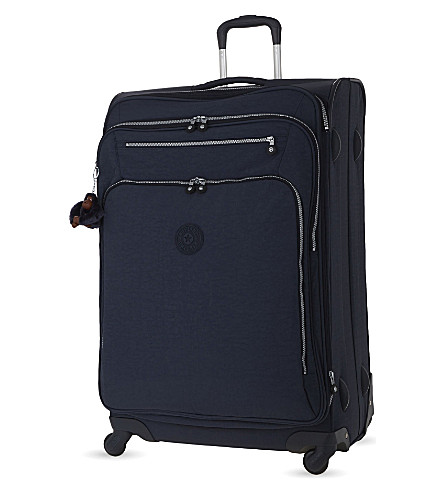 KIPLING Youri four-wheel spinner suitcase 78cm (Alaskan+blue