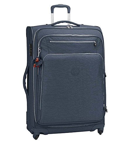 KIPLING Youri spinner suitcase 78cm (True+blue