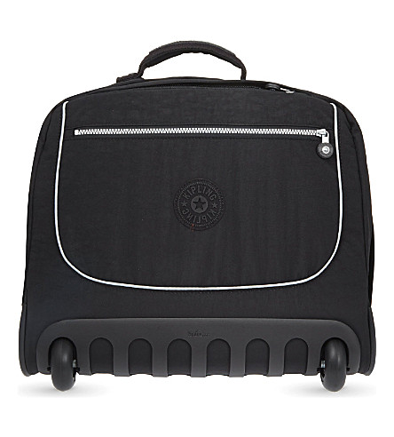 KIPLING Clas Dallin two-wheel briefcase backpack (Black