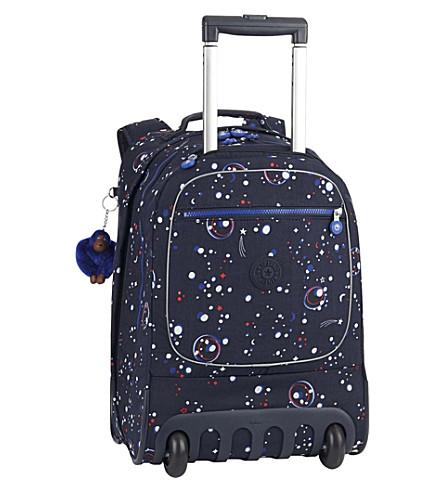 KIPLING Clas Soobin back to school two-wheel nylon backpack (Galaxy+party
