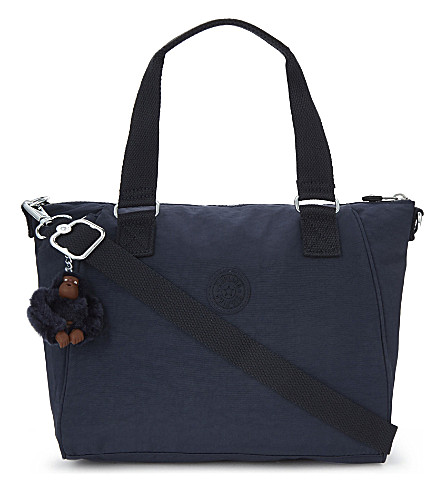 KIPLING Amiel medium nylon tote (Alaskan+blue