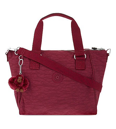 KIPLING Amiel medium nylon tote (Berry