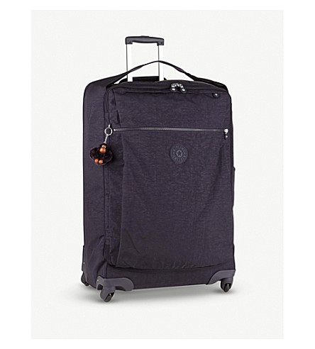 KIPLING Darcey four-wheel suitcase 74cm (Blue+purple+c