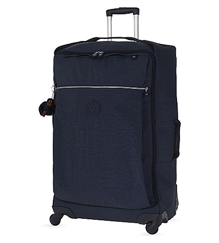 KIPLING Darcey large four-wheel suitcase 74.5cm (Alaskan+blue