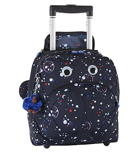 KIPLING Wheely Back to School nylon school bag (Galaxy+party