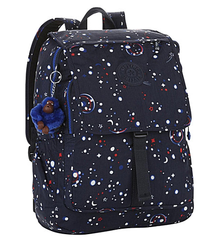 KIPLING Haruko nylon backpack (Galaxy+party