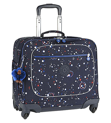 KIPLING Manary Back To School four-wheel briefcase (Galaxy+party