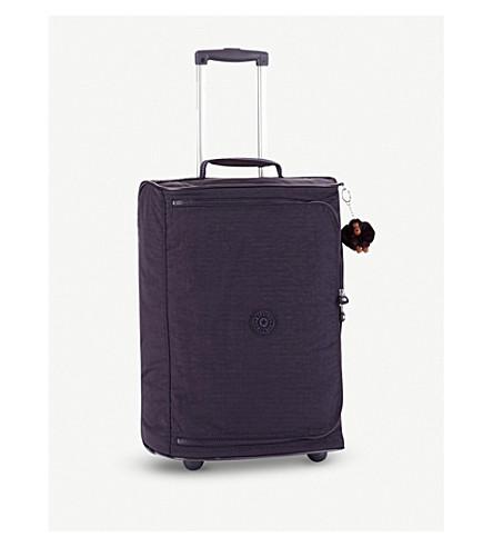 KIPLING Teagan XS suitcase (Blue+purple+c