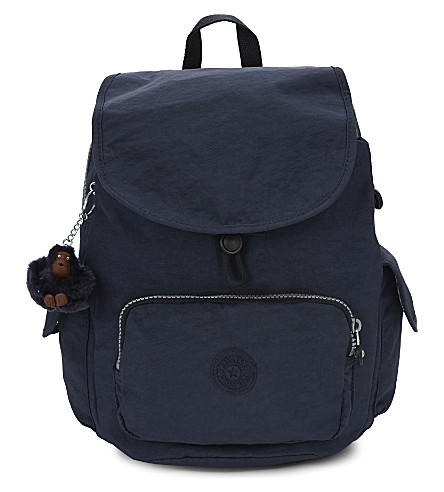 KIPLING City Pack small nylon backpack (Alaskan blue
