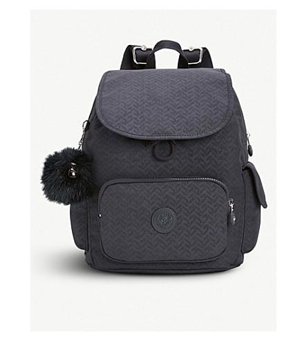 KIPLING City Pack small backpack (Night+blue+emb