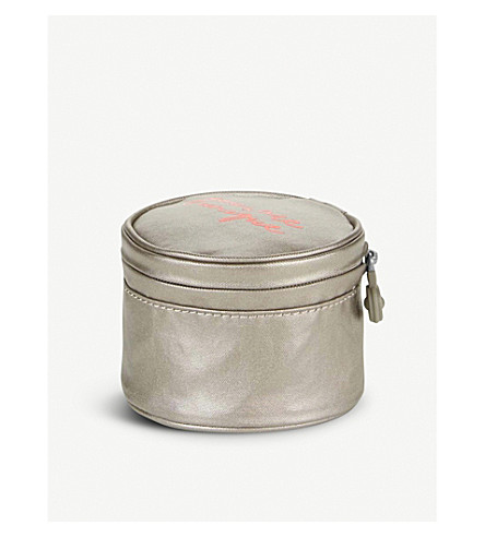 KIPLING Sheena small nylon pouch (Metallic+pewter