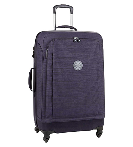 KIPLING Super hybrid four-wheel spinner suitcase (Dazz+bl+purple