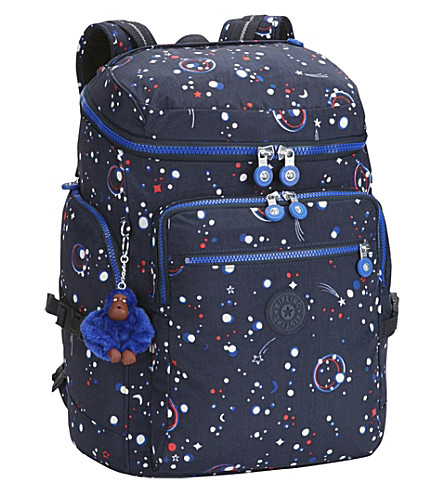 KIPLING Upgrade nylon backpack (Galaxy+party