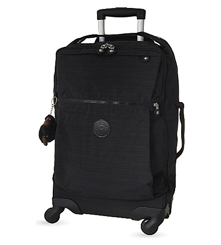 KIPLING Darcey four-wheel spinner suitcase 55cm (Dazz+black