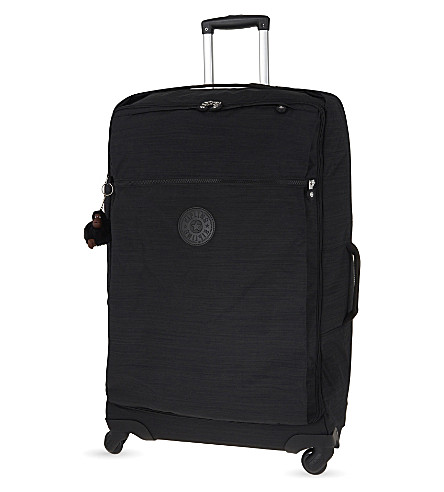 KIPLING Darcey four-wheel spinner suitcase 74.5cm (Dazz+black