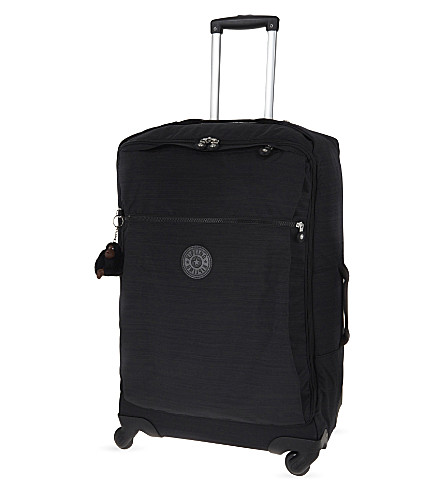 KIPLING Darcey four-wheel spinner suitcase 66.5cm (Dazz+black