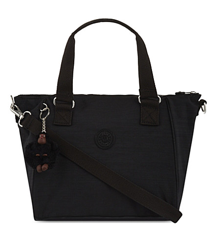 KIPLING Amiel nylon shoulder bag (Dazz+black
