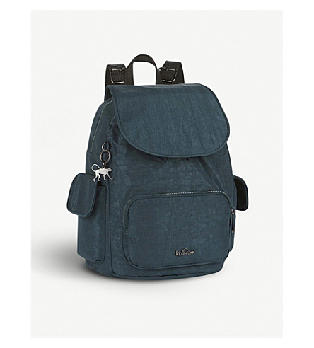 KIPLING City Pack small backpack (Deep+teal