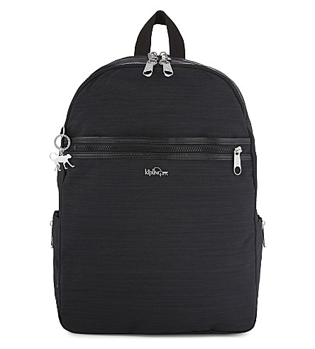 KIPLING Deeda nylon backpack (Dazz+black
