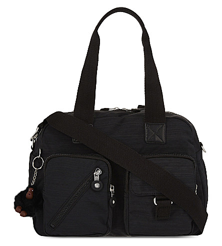 KIPLING Defea nylon shoulder bag (Dazz+black