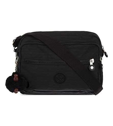 KIPLING Deena zipped shoulder bag (Dazz+black