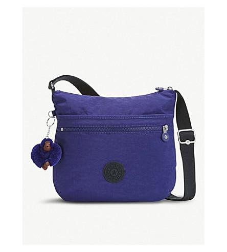 KIPLING nylon púrpura Arto bandolera Bolso verano Ww7R0