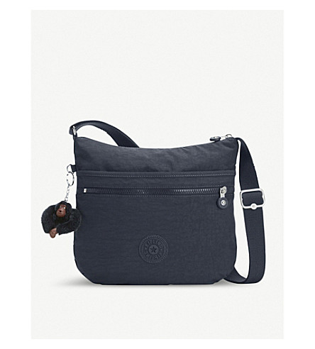 KIPLING Arto nylon shoulder bag (True+navy
