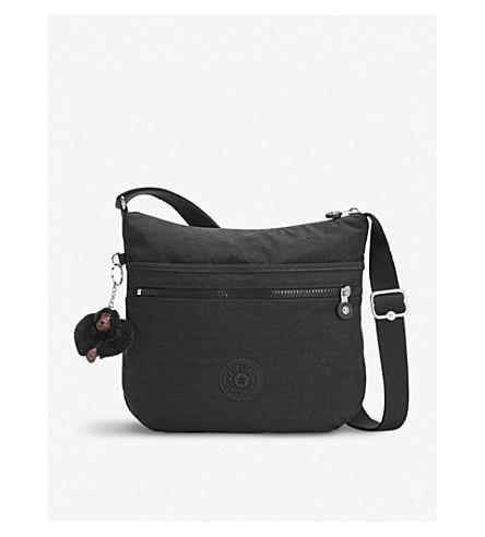 KIPLING Arto nylon shoulder bag (True+black