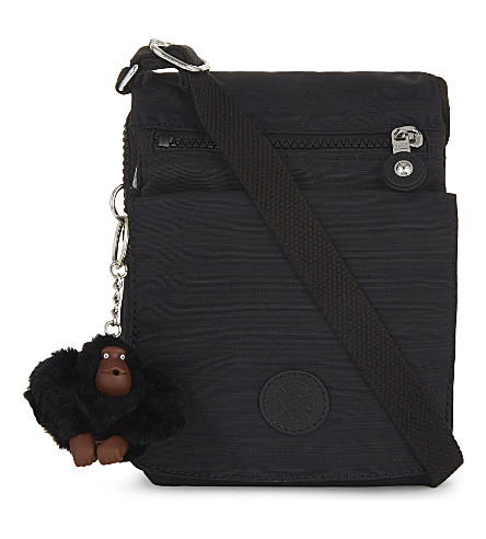 KIPLING Eldorado cross-body bag (Dazz+black