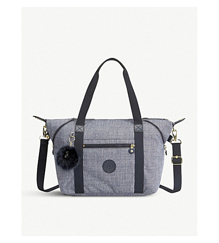 KIPLING Art water-resistant shoulder bag (Cotton+jeans