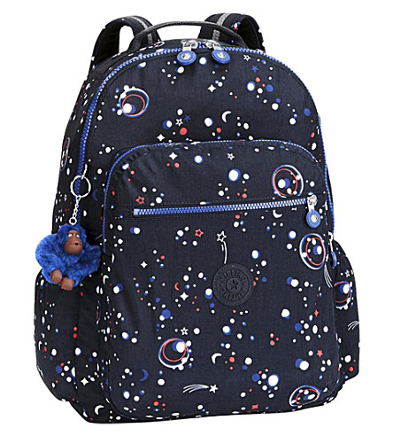 KIPLING Seoul Up nylon backpack (Galaxy+party