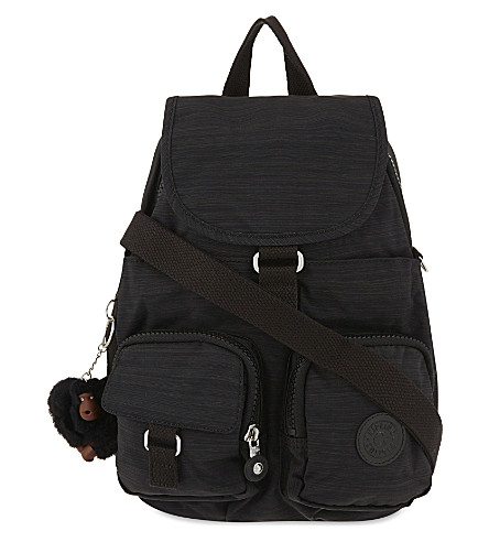 KIPLING Firefly small nylon backpack (Dazz+black