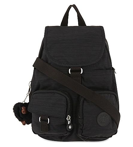 KIPLING Firefly small nylon backpack (Dazz+black