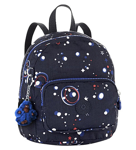KIPLING Munchin patterned nylon backpack (Galaxy+party
