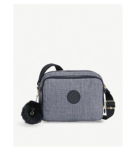 KIPLING Silen small woven shoulder bag (Cotton+jeans