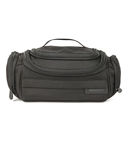 BRIGGS & RILEY Baseline executive toiletry bag (Black