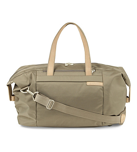 BRIGGS & RILEY Baseline large weekender bag (Olive