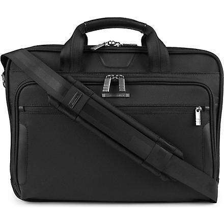 BRIGGS & RILEY @Work medium laptop briefcase (Black