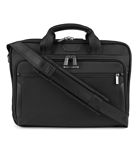 BRIGGS & RILEY @Work medium laptop briefcase (Black