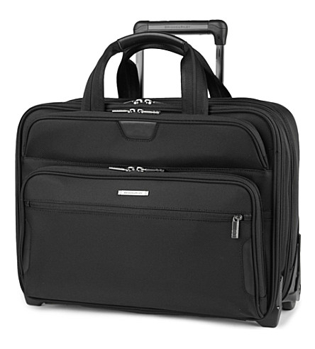 BRIGGS & RILEY @Work large expandable rolinging briefcase (Black