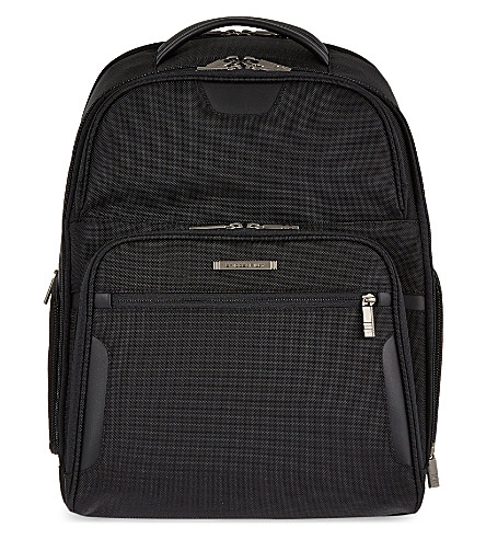 BRIGGS & RILEY Clamshell backpack (Black