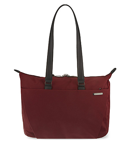 BRIGGS & RILEY Shopping tote (Burgundy