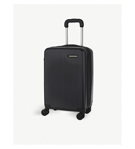 BRIGGS & RILEY Sympatico expandable four-wheel cabin suitcase 68.5cm (Black