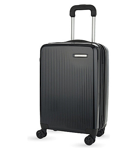 BRIGGS & RILEY Sympatico four-wheel expandable cabin suitcase 53.5cm (Onyx