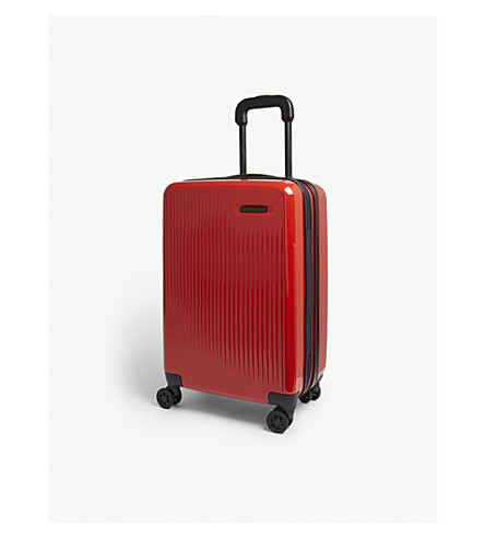 BRIGGS & RILEY Sympatico Domestic Carry-On spinner suitcase 56cm (Fire+red