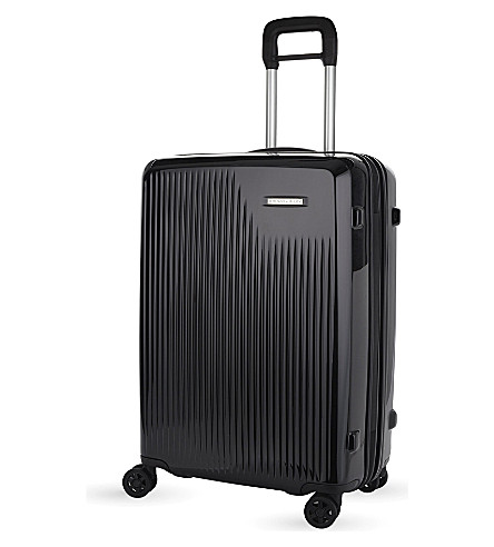 BRIGGS & RILEY Sympatico four-wheel medium expandable suitcase 68.5cm (Onyx
